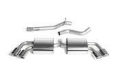 "Milltek Sport Audi TTS MK2 Non-Resonated 2.75"" Cat-back"