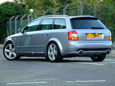 Milltek Sport Audi B6 A4 1.8T (Automatic, CVT) Quattro Non-Resonated Catback, 90mm Polished Jet Style Tips