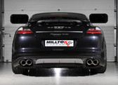 Milltek Sport Porsche Panamera Turbo CUP Edition Cat-Back Exhaust, Polished Tips
