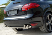 Milltek Sport Porsche Cayenne Turbo Catback Exhaust (resonated), Cup-style