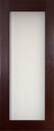 1 Lite Mahogany Interior Door Gateway Doors