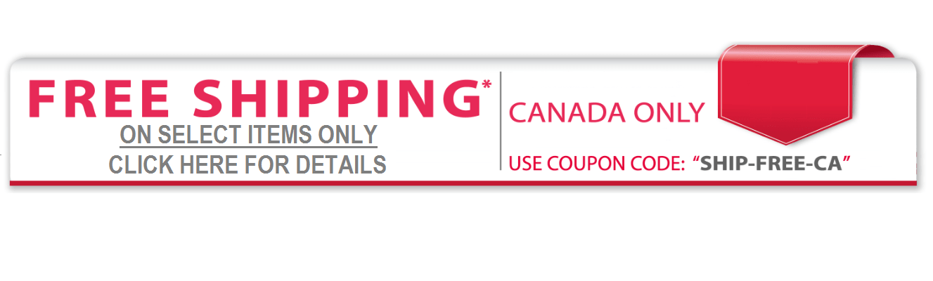 Some sites offer free shipping promo codes or occasional delivery discounts, and we'll share those here whenever they pop up. So bookmark this guide and make sure you check back here whenever you shop online! Canadian Stores with Free Shipping. Free Shipping Promotions in Canada. Chapters Indigo – free shipping sitewide until Sept. 6,