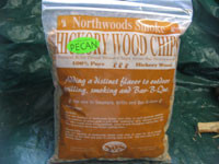 Real Pecan wood chips.