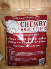 Great cherry chips work great with ribs and chicken. Yum O!