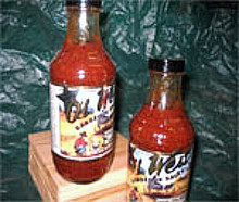 Ol' West Barbeque Sauce 16oz glass jar, Flavors of the Old West.