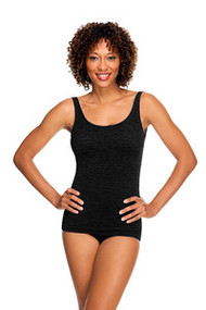 PENBROOKE POCKETED MASTECTOMY SWIMSUITS - SCOOP NECK SHEATH