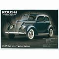 1937 DeLuxe Tudor Sedan Postcard (2169)