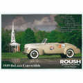 1939 DeLuxe Convertible Postcard (2173)