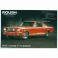 1965 Mustang 2+2 Fastback Postcard (2174)