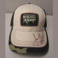 Roush Racing Autographed Camo Hat (1267)