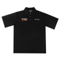 Roush P-51 Breathable Black Polo (2812)