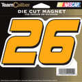 Jamie McMurray #26 Die-cut Magnet (1275)