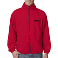 ROUSH Mens Red Full Zip Fleece (2930)