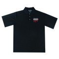 Roush Racing Breathable Black Polo (2934)