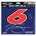 Trevor Bayne #6 Multi-Use Decal (3053)