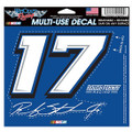 Ricky Stenhouse Jr. #17 Multi-Use Decal (3044)