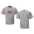 Bubba Wallace Jr. Grey Logo Tee (3075)