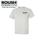 Roush Clean Tech Light Gray Tee (3096)