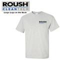 Roush Clean Tech Light Gray Tee (3096)
