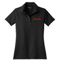 Roush Ladies Black Breathable Polo (3108)
