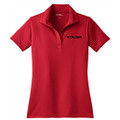 Roush Ladies Red Breathable Polo (3111)