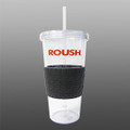 Roush 24 oz Tire Tumbler with Straw (3159)