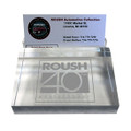 Roush 40th Anniversary Etched Paperweight & Business Card Holder (3245)