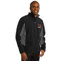 Roush Square R Lightweight Black/Gray Jacket (Fitted Jacket; May Run Small) (3238)