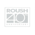 Roush 40th Anniversary Etched Glass Decal (3252)