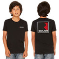 Roush Youth Black Square R Tee (3259)
