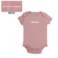 Roush Pink Square R Onesie (3264)