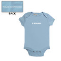 Roush Blue Square R Onesie (3263)