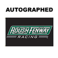Roush Fenway Signed 3' x 5' Flag (3316)