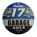 "Ricky Stenhouse Jr. Signed 12"" Garage Area Plastic Sign (3311)"