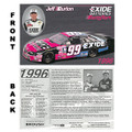 Jeff Burton 1996 Card (2159)