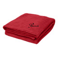 Roush Red Soft Touch Velura Blanket (3336)