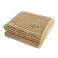Roush Tan Soft Touch Velura Blanket (3332)