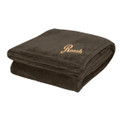 Roush Brown Soft Touch Velura Blanket (3333)
