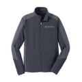 Roush Mens Gray Colorblock Microfleece (3320)