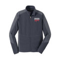 Roush Racing Mens Gray Colorblock Microfleece (3323)