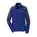 Roush Ladies Blue Colorblock Microfleece (3325)