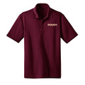 Roush Maroon Snag Resistant & Moisture Wicking Polo (3369)