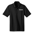 Roush Black Snag Resistant & Moisture Wicking Polo (3370)
