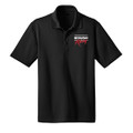 Roush Racing Black Snag Resistant & Moisture Wicking Polo (3373)