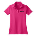 Roush Ladies Square R Pink Breathable Polo (3404)