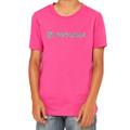Roush Girls Square R Pink Glitter Tee (3409)