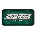 Roush Fenway License Plate (3421)