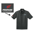 Roush Clean Tech Gray Mens Polo #2 (3387)