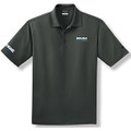 Roush Clean Tech Gray Mens Polo w/ Propane Logo (3392)