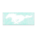 Ford Mustang White Decal (3444)